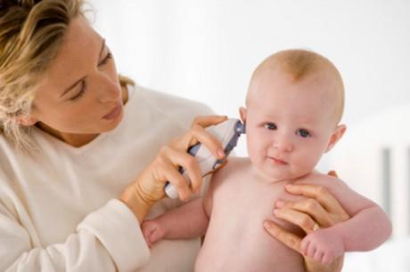 Ушная инфекция у младенцев, симптомы