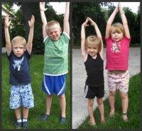 Растяжка и гибкость для детей!