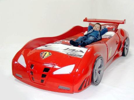 Создаем стильный интерьер детской – выбираем кровать машину