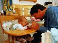 Сбалансированный детский рацион питания до года