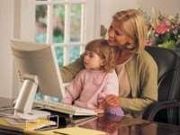 Как совместить воспитание ребенка и работу?