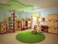 Ремонт в детской комнате: создаем эко-стиль в интерьере