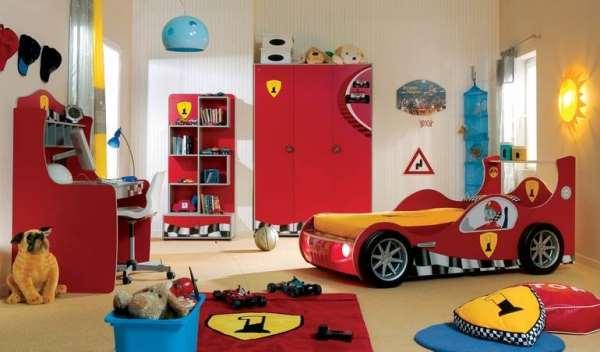 Детская комната для мальчика – мир воплощенных идей