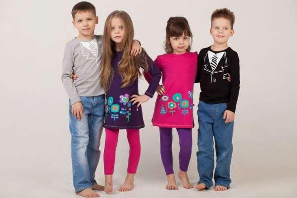 Общие принципы при выборе детской одежды