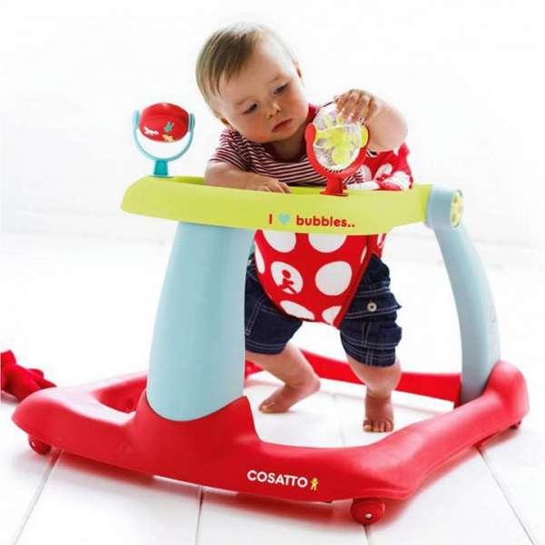 Детские ходунки и прыгунки: ЗА и ПРОТИВ