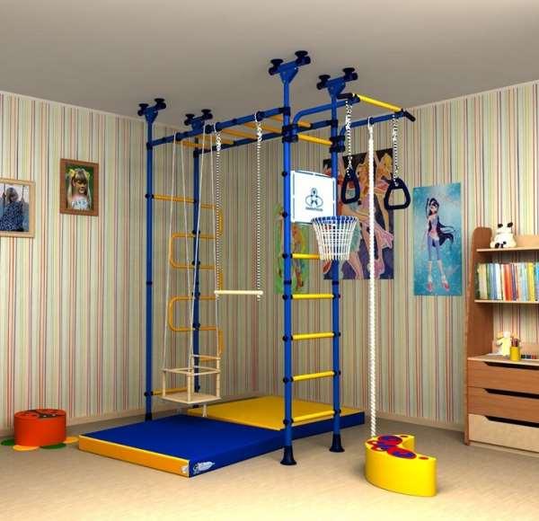 Упражнения для детей на шведской стенке