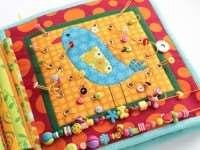 Развивающая мягкая книга для малышей своими руками (часть 2)