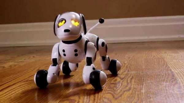 Собака робот – электронный друг для ребенка
