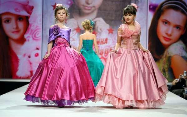 День рождения девочки: показ мод