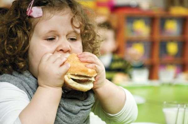 Причины появления и опасность лишнего веса у детей