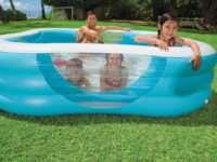 Бассейн для лета: надувной или пластиковый?