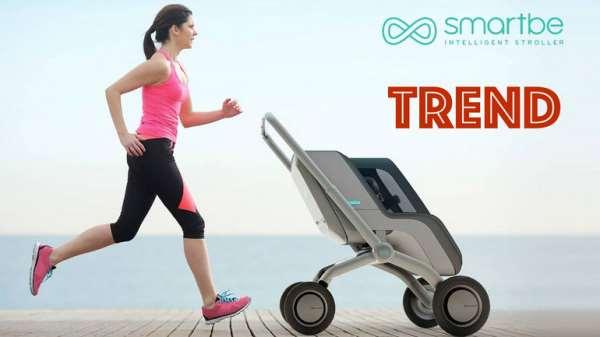 Smartbe: очень умная коляска