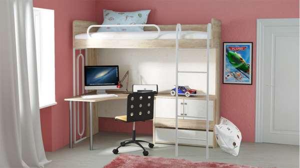 Кровать чердак для детской: как подойти к выбору?