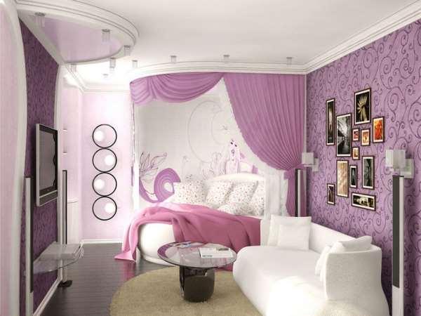 Детская для девочки: дворец маленькой принцессы