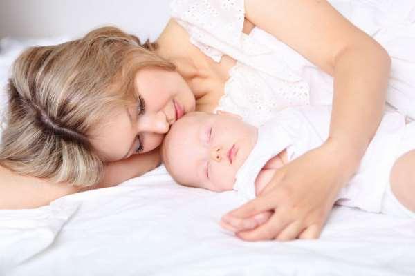 Здоровый сон детей до года