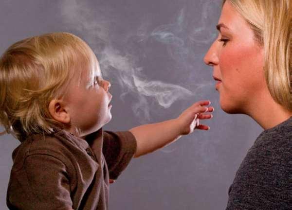 Табачный дым и дети