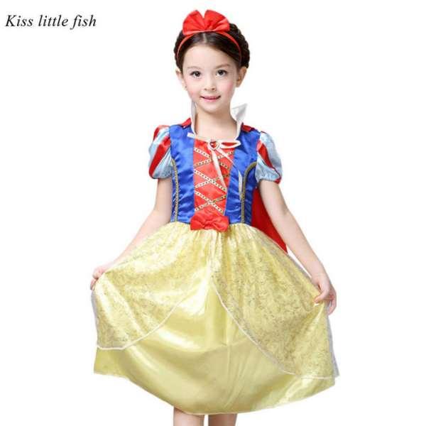 Идеальные наряды принцесс для дня рождения девочки