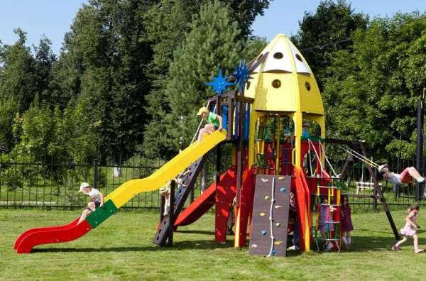 Готовимся к лету   детская площадка на даче
