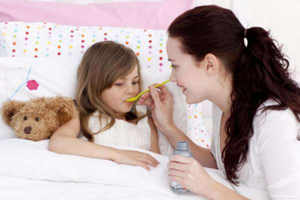 Лечим ребёнка при первых признаках простуды