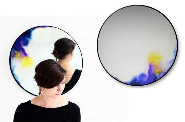 Зеркала с кусочком радуги от Constance Guisset