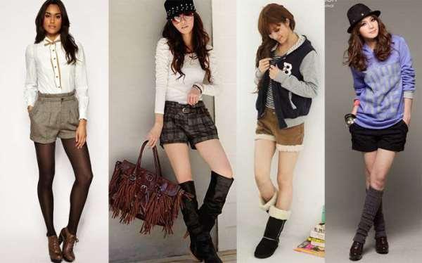 С чем лучше всего сочетать женские шорты