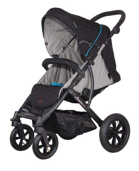 Достоинства надувных колёс на детских колясках.
