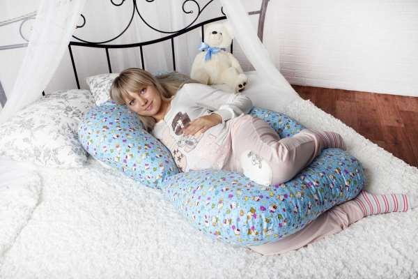 Какими преимуществами отличаются подушки для беременных