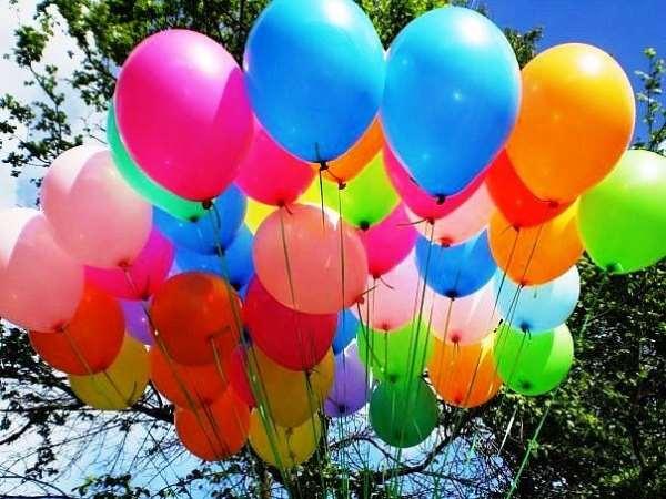 Воздушные шары – отличный способ рекламы и декора различных мероприятий