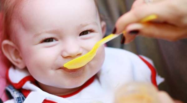 Детское питание для детей до года