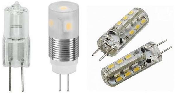Профсвет предлагает капсульные лампочки с цоколем G9 и G4