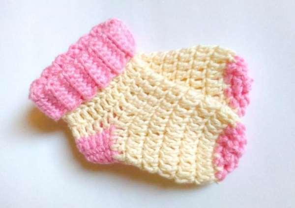 Какую пряжу выбрать для вязания детских носочков