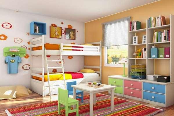 Как правильно обустроить детскую комнату.