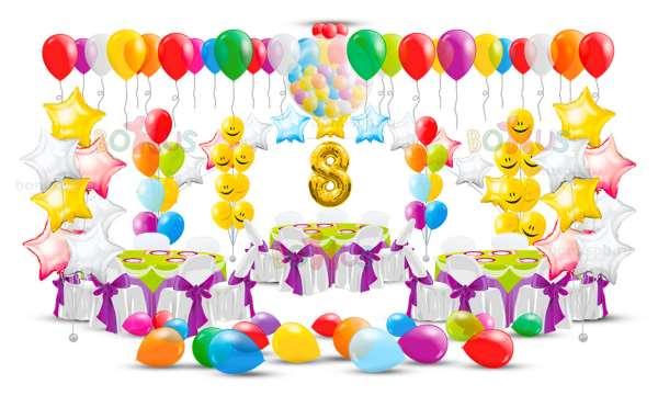 Воздушные шары на день рождения и другие праздники