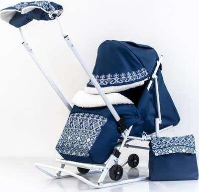 Санки коляска для детей – какую модель предпочесть