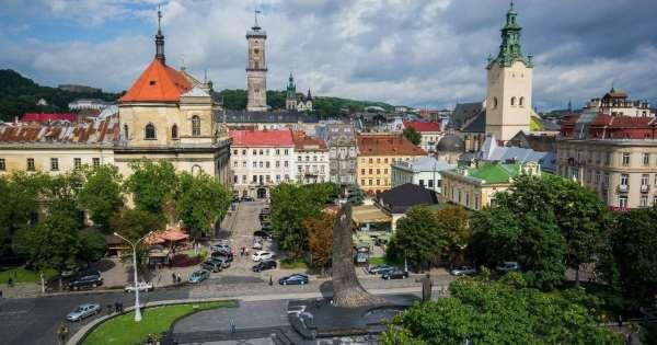 Город Львов   вторая неофициальная столица Украины