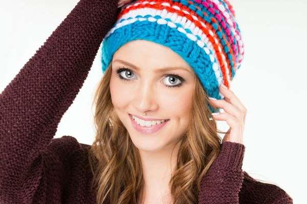 Женская шапка в зависимости от формы лица