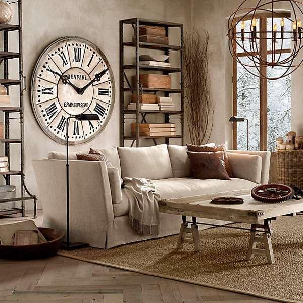 Настенные часы в интерьере: зависимость от стиля