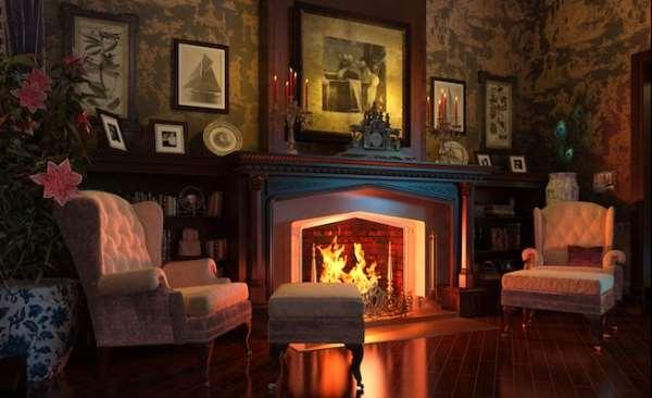 Электрокамин   уют и тепло в любом доме