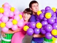 Особенности использования букетов из воздушных шаров