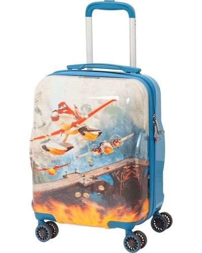 Пластиковый чемодан для подростка
