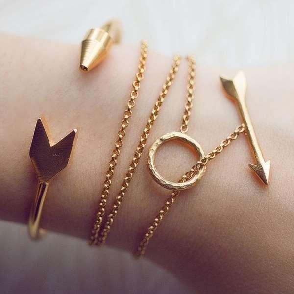 Как правильно выбрать женский золотой браслет на руку?
