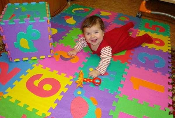 Детские коврики пазлы – интересное развивающее развлечение для ребенка
