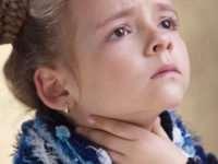 Боли в горле у детей