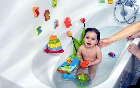 Как должны храниться игрушки для купания