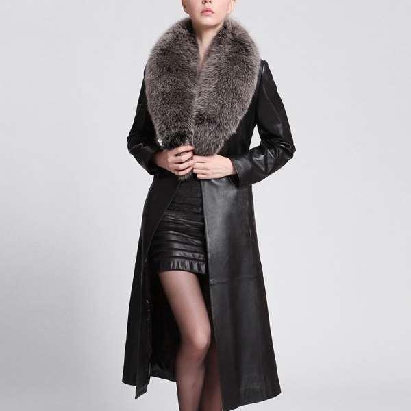 Кожаное женское пальто: актуальные советы по выбору