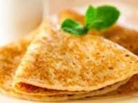 Рецепт приготовления вкусных тонких блинов на молоке
