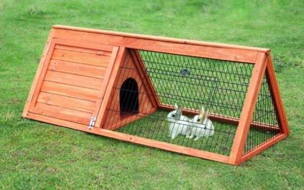 Полноценный дом для кроликов