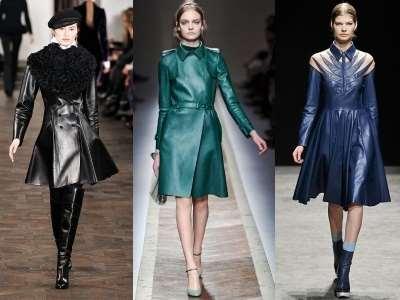Женское кожаное пальто – верхняя одежда для истинных модниц