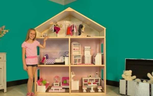 Домик для кукол – лучший подарок для маленькой принцессы и не только