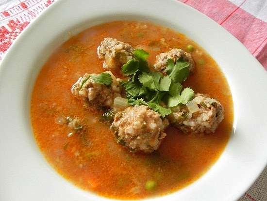 Тефтелевый суп – секреты приготовления